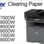 Clearing Paper Jam Errors in Brother MFC-L5700dw and Other Related Models
