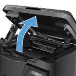 How to replace the CF350A series toner in the HP M176n and M177fw printers
