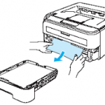 Clearing Paper Jam Errors for Brother Printers