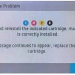Why are my HP 972X inkjet cartridges not working?