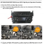 How to Remove a Glued Toner Chip