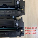 Removing Toner Chip Without Damaging it