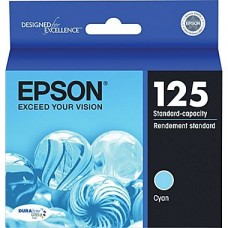 Epson 125 Cyan Ink Cartridge (T125220)