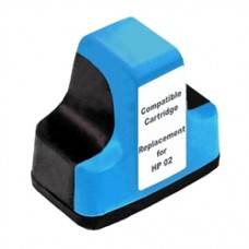 HP 02 Cyan Compatible Ink Cartridge (C8771WN)