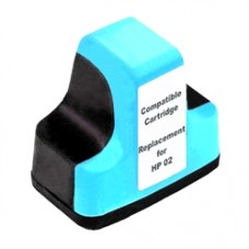 HP 02 Light Cyan Compatible Ink Cartridge (C8774WN)