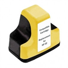 HP 02 Yellow Compatible Ink Cartridge (C8773WN)