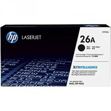*HP 26A Black Original Toner Cartridge (CF226A)