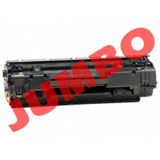 HP 35A Black Compatible Toner Cartridge (CB435A), Jumbo Yield