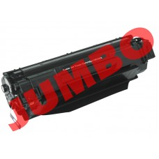 HP 36A Black Compatible Toner Cartridge (CB436A), Jumbo Yield