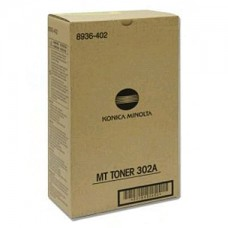 Konica Minolta 302A Black Toner Cartridge (8936-402)