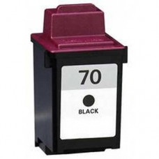 Lexmark 70 Black Compatible Ink Cartridge (12A1970)