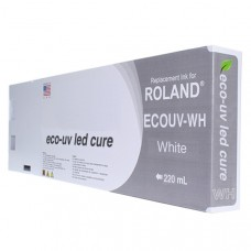 Roland Compatible White LED UV 220ml (EUV-WH)