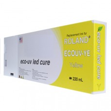 Roland Compatible Yellow LED UV 220ml (EUV-YE)