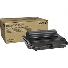 Xerox 3300MFP Black Toner Cartridge (106R01412), High Yield