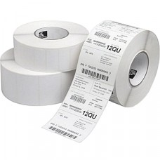"Zebra 1500T Z-Perform Thermal Transfer Label Paper, White, 4"" x 6"", 3"" Core (10018340)"