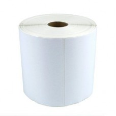 "Zebra 2000D Z-Perform Direct Thermal Label Paper, White, 4"" x 1.5"", 1"" Core, 1620/Roll, 6 Rolls/Ctn (10015786)"