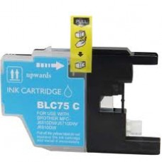 Brother LC75C Cyan Compatible Ink Cartridge High Yield